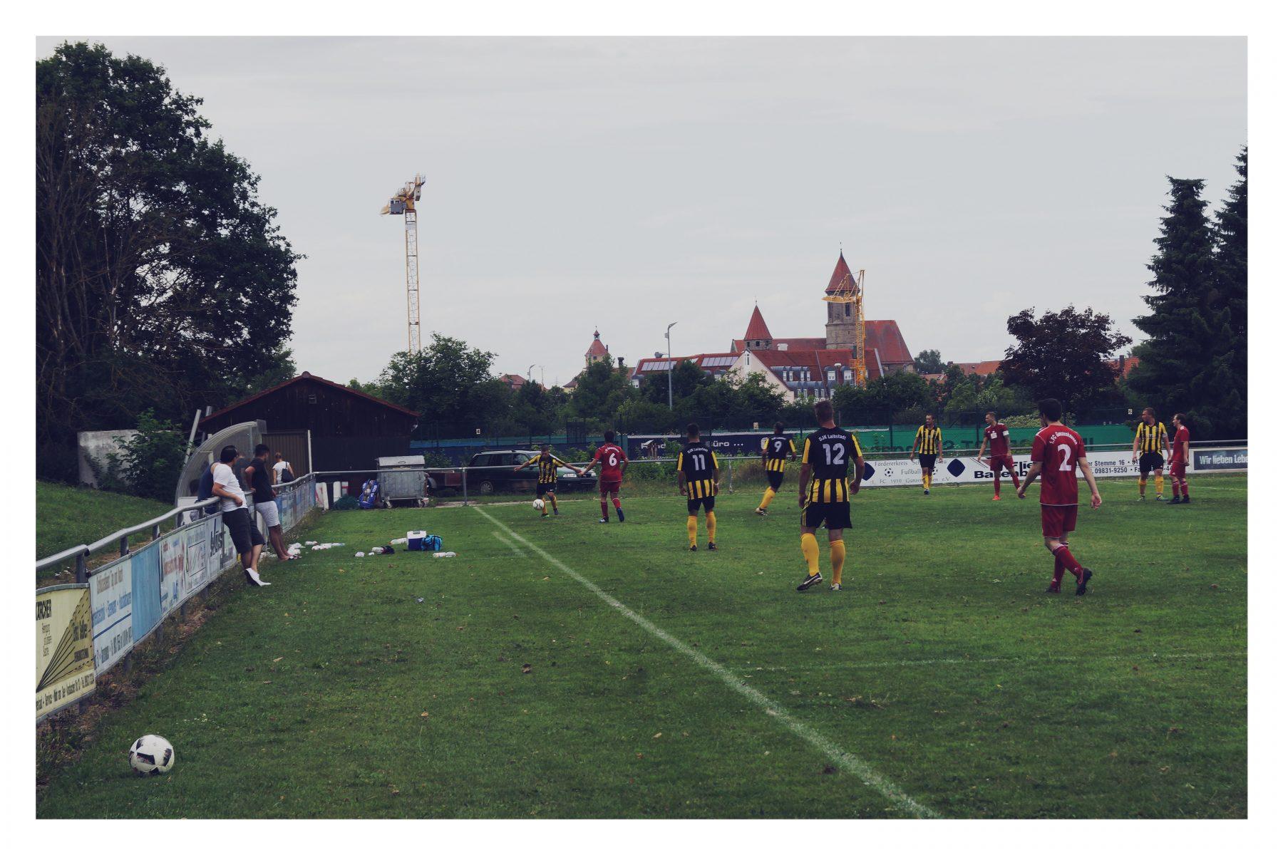 DJK Laibstadt gegen 1. FC Gunzenhausen